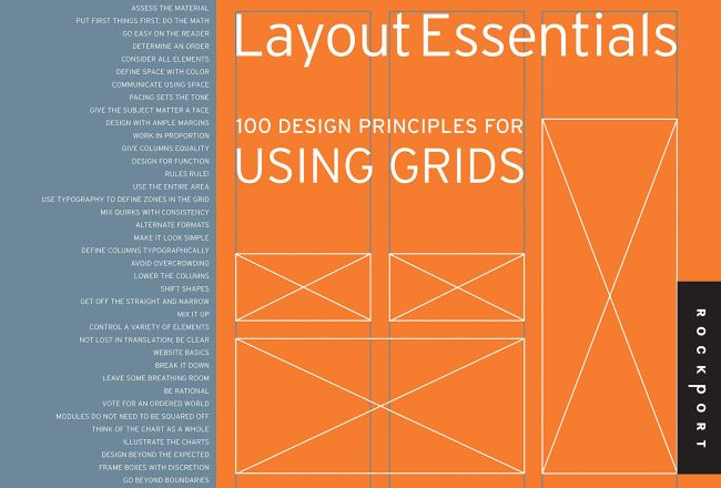 Layout Essentials: 100 Design Principles for Using Grids (Essential Design Handbooks)