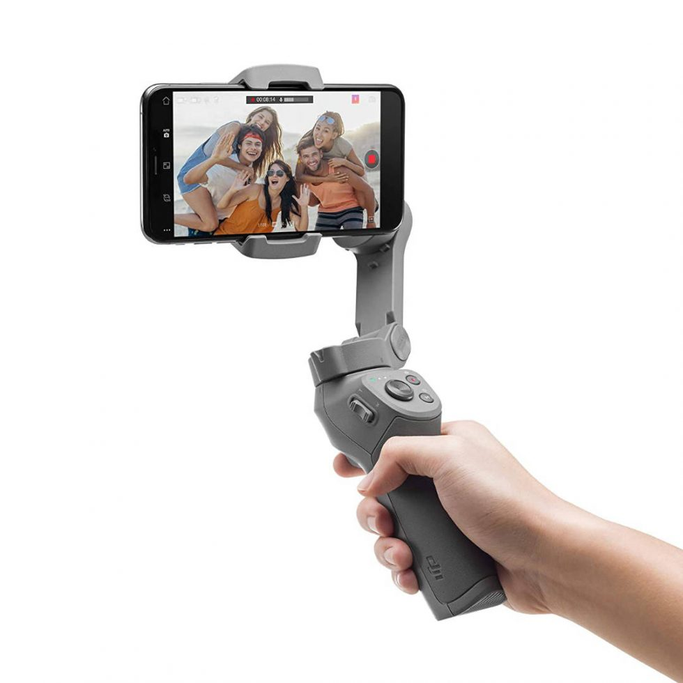 DJI OM3 Combo, 3 axis stabilizer for Compatible Smartphone